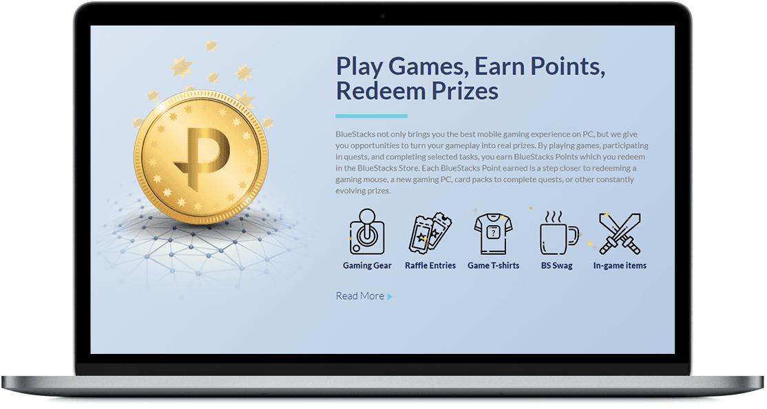 BlueStacks Points and Prizes - Windowstan