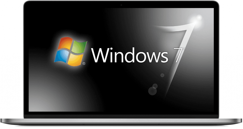 Get Windows 7 ISO Ultimate Full Free File - Black wallpaper