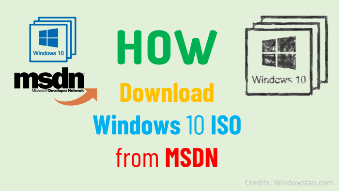 HOW Download Windows 10 ISO from MSDN