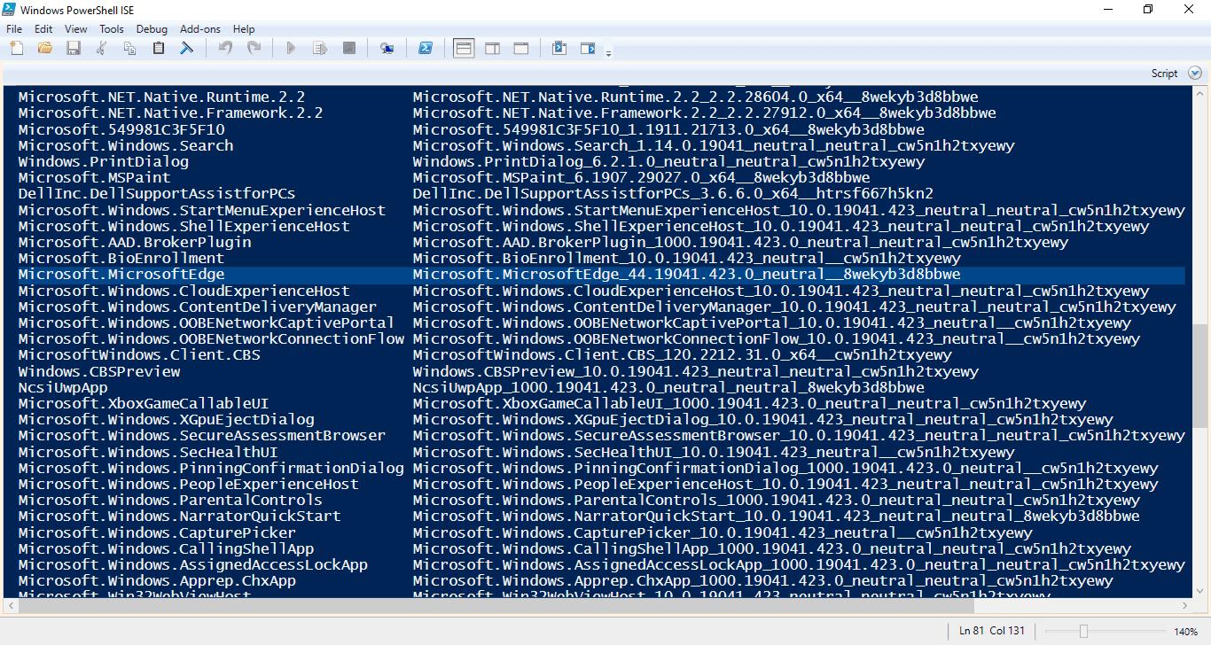 2-Microsoft Edge 44 Old version