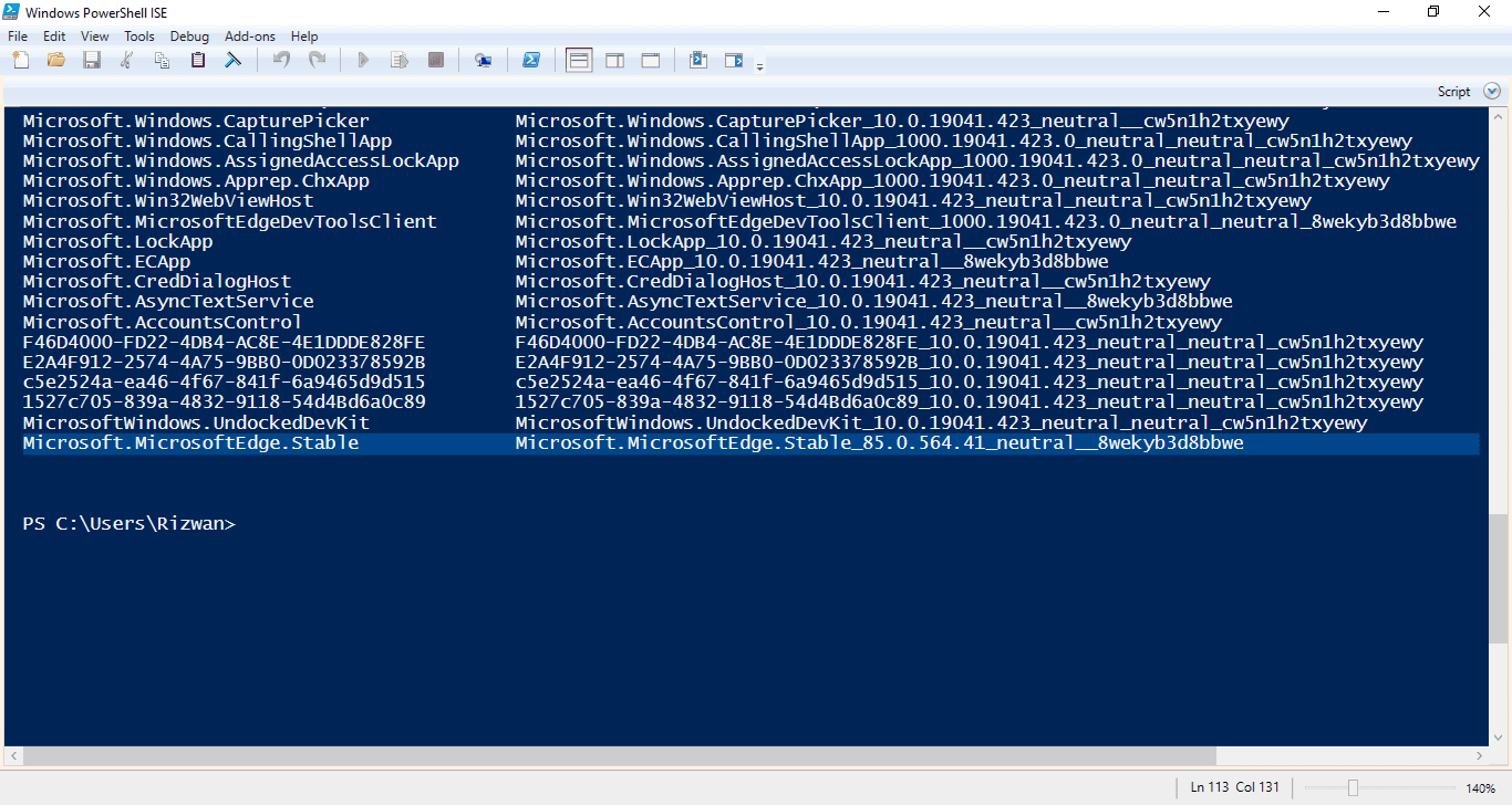 3-Microsoft Edge Chromium Stable