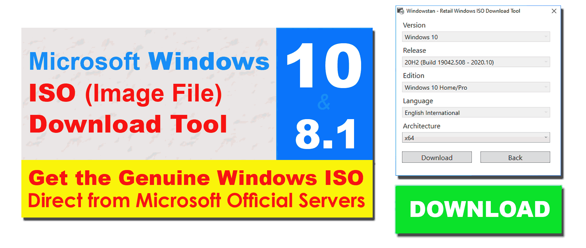 ISO-Download-Tool-for-Windows-10-ISO